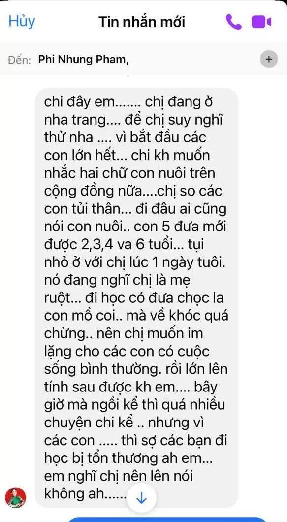 Ca sĩ Phi Nhung có tâm nguyện đặc biệt dành cho 23 con nuôi nhưng chưa thành, Xuân Lan tiết lộ tin nhắn quá đau lòng!  - Ảnh 3.