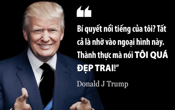 Trump nói câu này hôm 7/8/2015, nhằm tránh những lời chỉ trích sau khi ông bình phẩm về người dẫn chương trình Fox News.