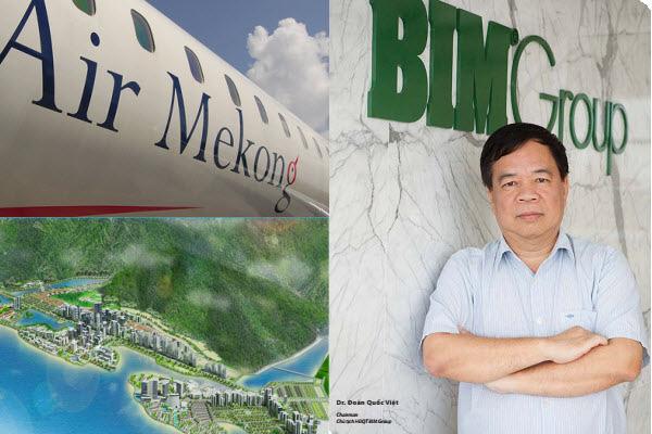 Đoàn Quốc Việt - Ông chủ BIM Group và Air Mekong.