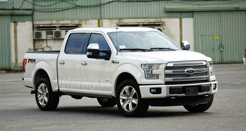 """7 điều có thể bạn chưa biết về chiếc bán tải """"khủng long"""" Ford F-150"""