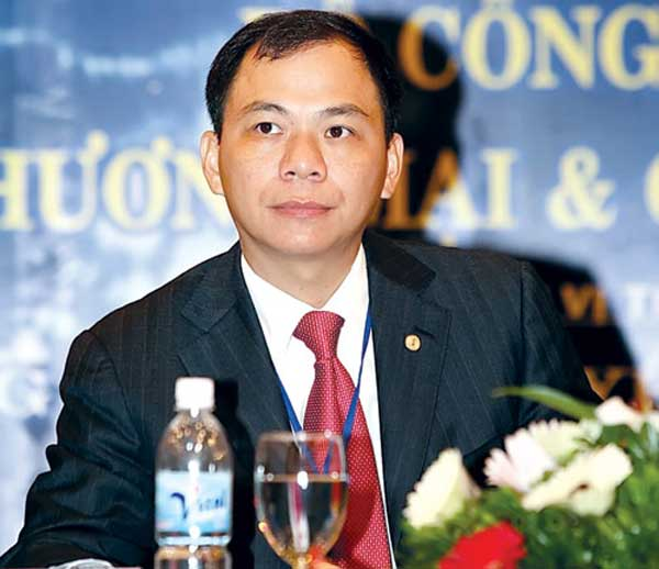 Phạm Nhật Vượng - Chủ tịch Tập đoàn Vingroup.