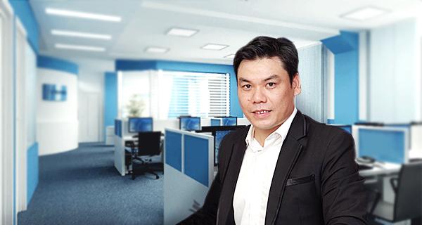 Ông Đỗ Tuấn Anh, giám đốc kinh doanh của startup KiotViet