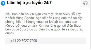 Số điện thoại hỗ trợ tiếng Việt, mã vùng TP HCM cũng không còn, thay vào đó là số điện thoại quốc tế có tính phí.