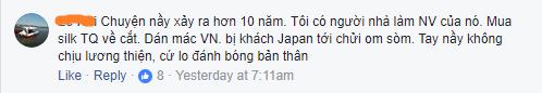 """Thêm người tiêu dùng tố khăn lụa Khaisilk gắn mác Made in Vietnam, nhưng đã khéo cắt đi mác """"Made in China"""", vì sao doanh nhân Hoàng Khải vẫn im lặng? - Ảnh 3."""