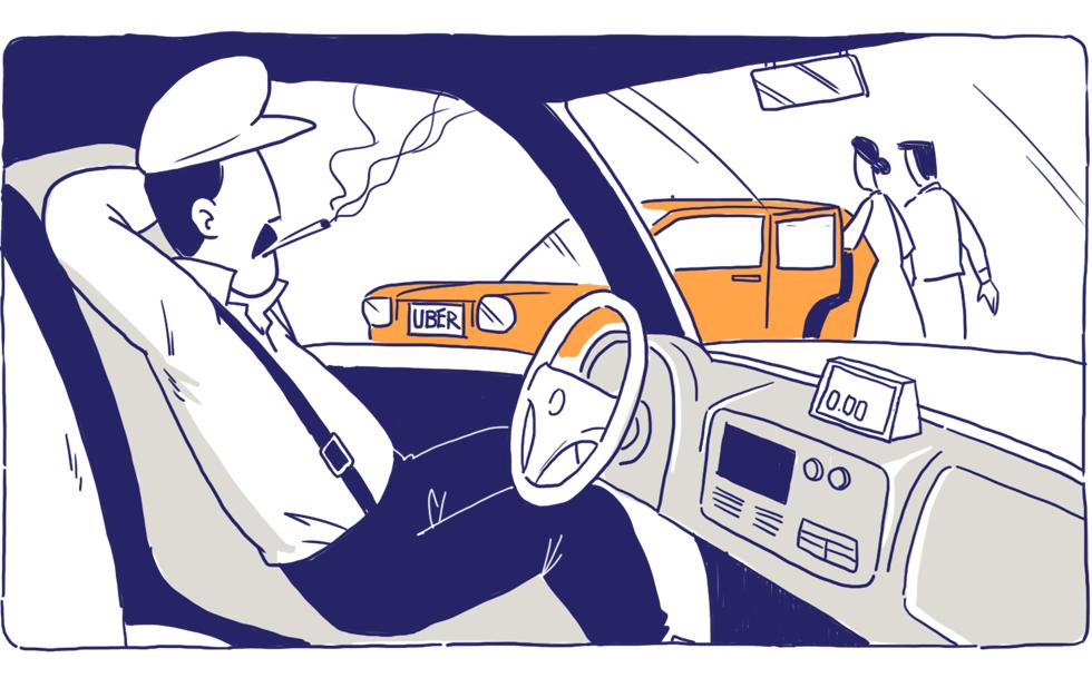 Cuộc chiến không hồi kết của Uber, Grab và taxi truyền thống: Đấu tranh tới chết, hay thay đổi để sống! - Ảnh 6.