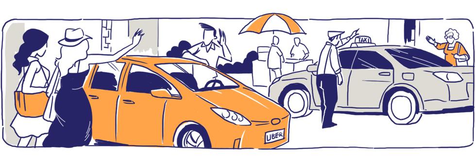 Cuộc chiến không hồi kết của Uber, Grab và taxi truyền thống: Đấu tranh tới chết, hay thay đổi để sống! - Ảnh 8.
