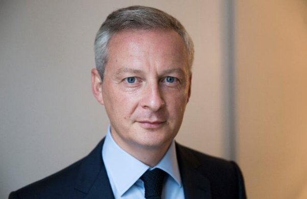 Bộ trưởng Tài chính Pháp, ông Bruno Le Maire