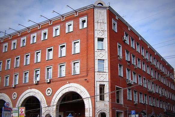 Mosmetrostroy cũng xây cả một vài tòa nhà dân dụng