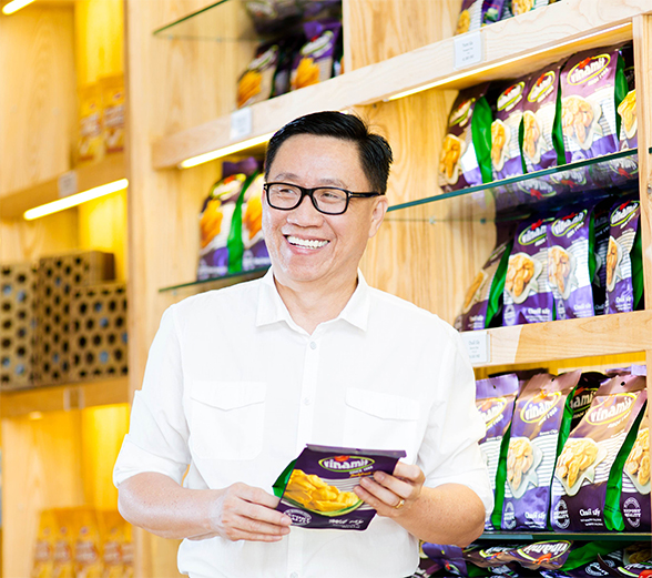 Nhìn quả mít rụng gốc cây, người đàn ông này đã nảy ra ý tưởng tạo doanh nghiệp Việt triệu đô - Ảnh 1.