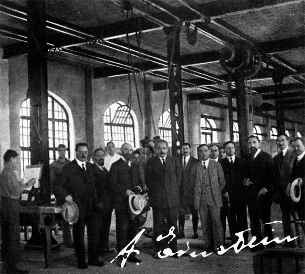 Eistein thăm Technion năm 1923.