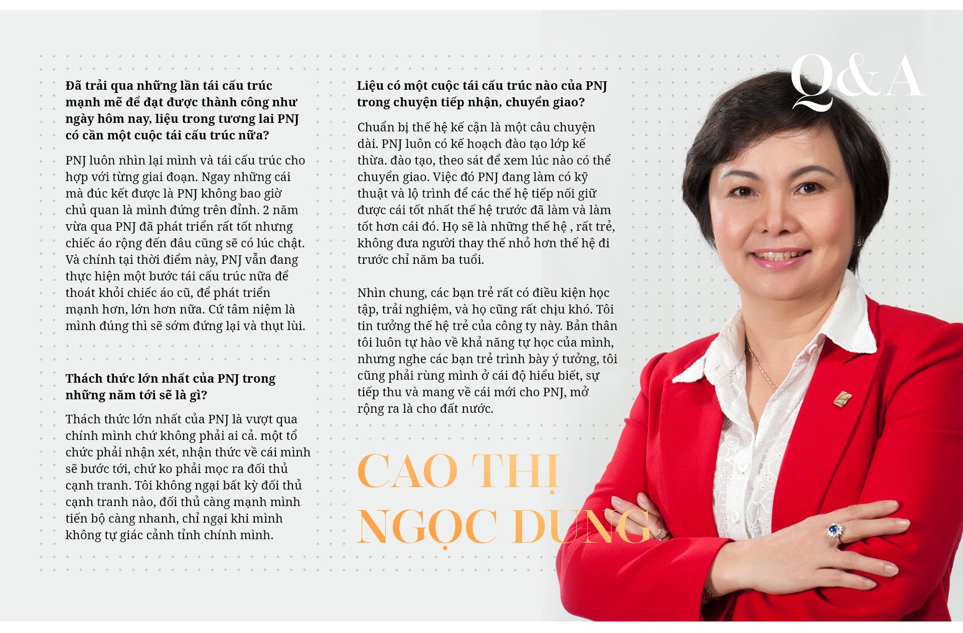 Bà Cao Thị Ngọc Dung: Từ cán bộ Nhà nước tới nữ tướng có tầm nhìn xa tới 2 thập kỷ, biến PNJ thành nhà bán lẻ trang sức số 1 Việt Nam - Ảnh 14.