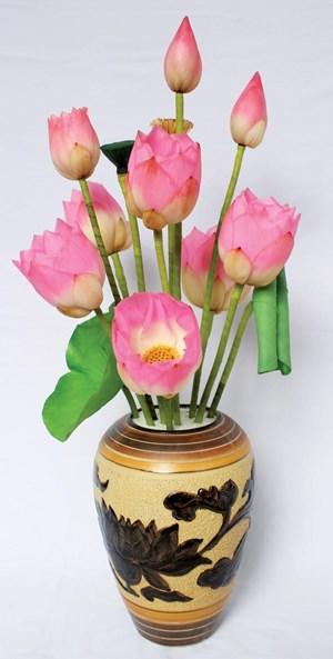 Kỹ thuật mới sẽ giúp hoa sen giữ được vẻ tươi đẹp trong nhiều tháng liền
