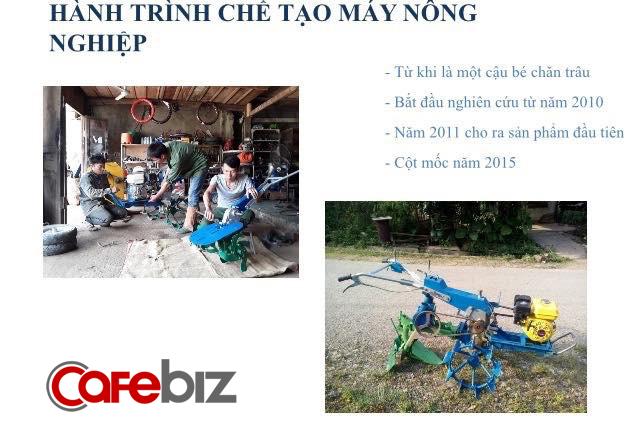 Thợ sửa xe máy vùng cao sáng chế ra máy nông nghiệp cho ruộng bậc thang, làm thay nông dân từ A-Z, dự định bán 200 chiếc vào năm 2018 - Ảnh 2.