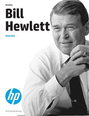 Bill Hewlett, nhà đồng sáng lập HP.