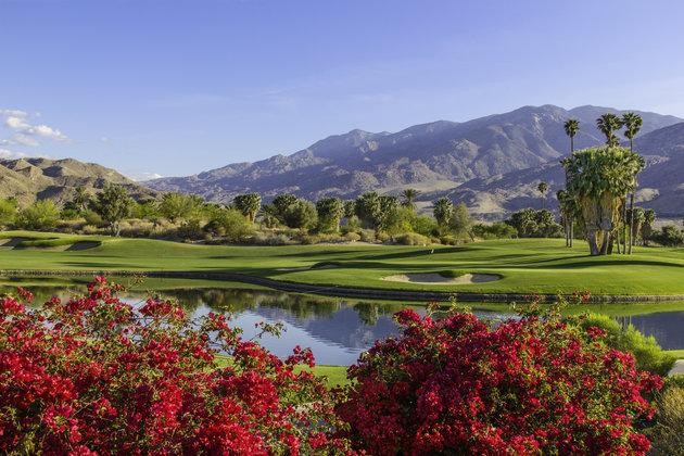 Sân golf tuyệt đẹp ở Palm Springs, nơi gia đình ông Obama tới nghỉ ngơi sau khi rời Nhà Trắng. Ảnh: Getty
