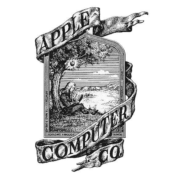 Logo đầu tiên của Apple