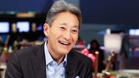 Ông Kazuo Hirai, CEO Sony