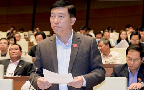 Đại biểu Nguyễn Tuấn Anh đoàn Bình Phước.
