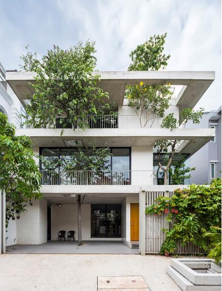 Báo Mỹ ngỡ ngàng với ngôi nhà tràn ngập cây xanh tuyệt đẹp giữa lòng Sài Gòn - ảnh 2