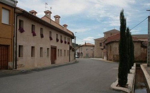 Ngôi làng nhỏ nơi ông Fernández từng sinh sống.