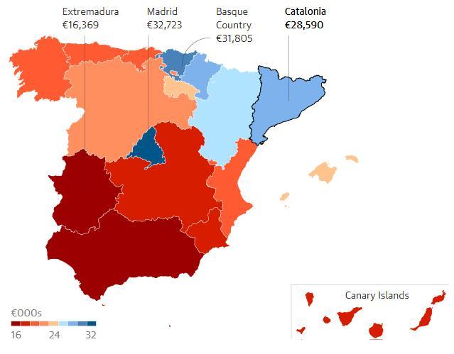 Đối với Tây Ban Nha, Catalonia quan trọng ra sao? - Ảnh 1.