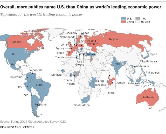 Vị thế Trung Quốc ra sao trong mắt các nước trên thế giới? - Ảnh 2.