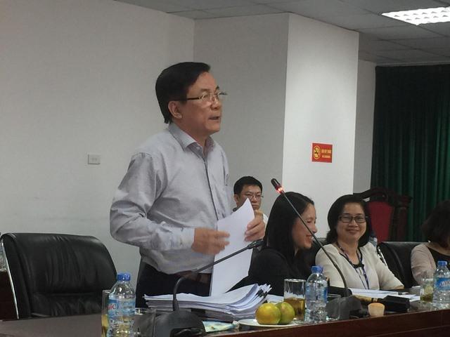 Ông Đặng Duy Khánh, Phó Vụ trưởng Vụ thanh tra
