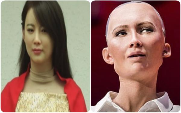 Jia Jia và Sophia có nhan sắc khá chênh lệch