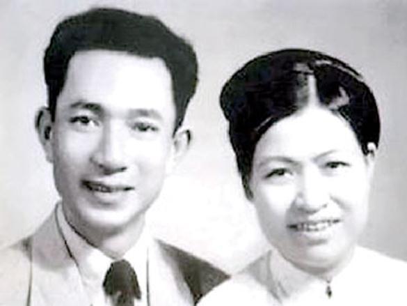 Vợ chồng cụ Trịnh Văn Bô - Hoàng Thị Minh Hồ .