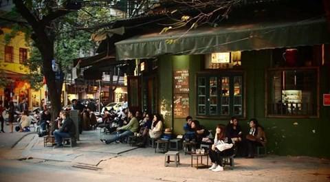 Một quán cà phê ở Việt Nam. Ảnh: Internet