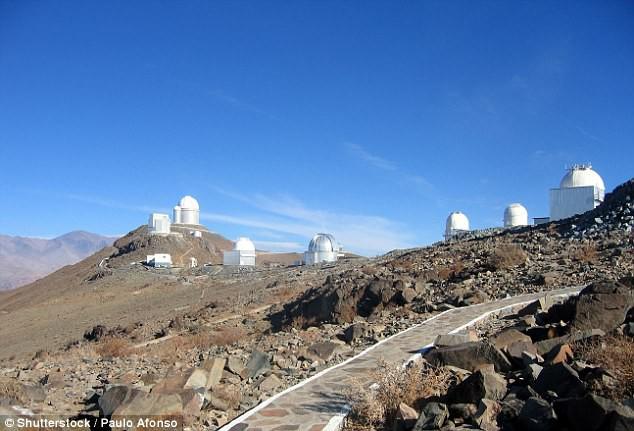 Tiểu hành tinh K2-18c được phát hiện bằng dữ liệu sử dụng từ đài quan sát La Silla tại Chile.