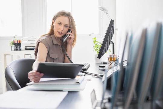 Công việc văn phòng có hại hơn bạn tưởng - ảnh minh họa từ Internet.