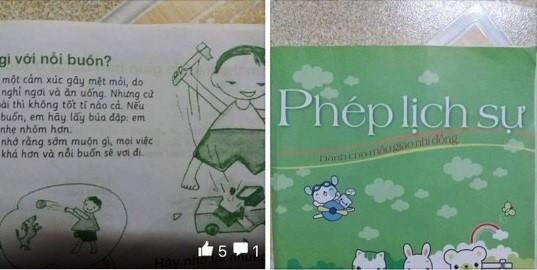 Câu chuyện nằm trong cuốn sách Phép lịch sự dành cho mẫu giáo nhi đồng. Ảnh chụp màn hình.