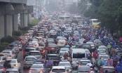 Trời cứ mưa là đường tắc: CSGT Hà Nội nói gì? - Ảnh 2.