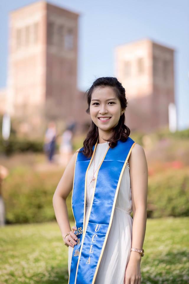 Sao Ly vừa tốt nghiệp ngành Sinh học và Y tiến hóa ở ĐH California (Los Angeles) năm 2016