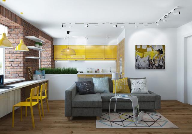 Thiết kế nội thất chất lừ của ngôi nhà ống 65m2 cho các gia đình trẻ - Ảnh 1.