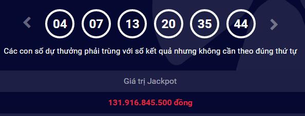 Vừa có người người hưởng trọn giải Jackpot hơn 130 tỷ của Vietlott  - Ảnh 1.