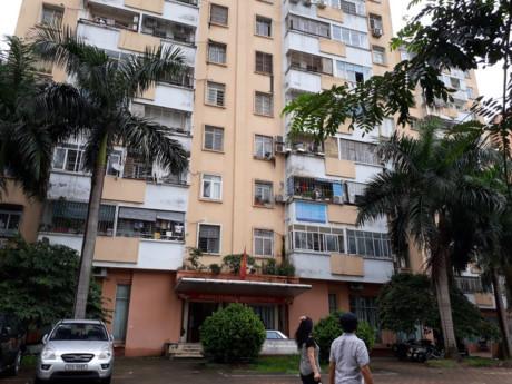 Không chỉ tập thể cũ, hiện trạng cũng diễn ra ở nhiều khu chung cư mới