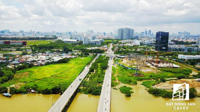 Diện mạo BĐS khu Nam Sài Gòn nhìn từ trên cao đang thay đổi chóng mặt  - Ảnh 1.