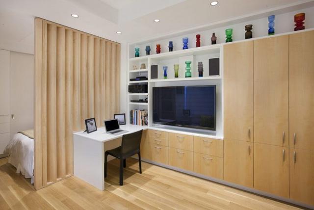 Thiết kế nội thất căn hộ 32m2 chất lừ cho gia đình trẻ - Ảnh 2.