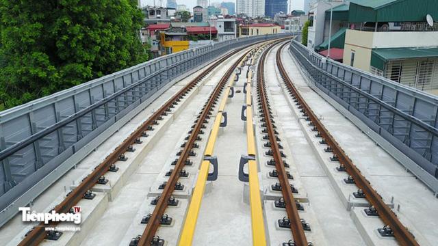 Hình ảnh dự án đường sắt Cát Linh - Hà Đông trước ngày chạy thử - Ảnh 1.