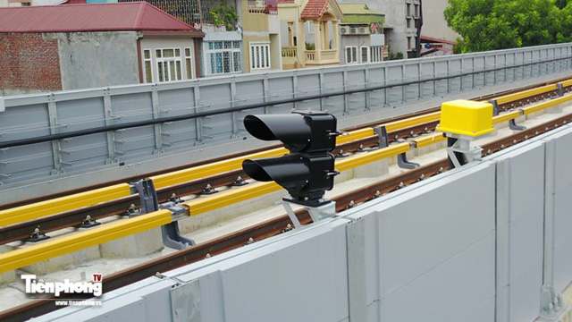 Hình ảnh dự án đường sắt Cát Linh - Hà Đông trước ngày chạy thử - Ảnh 2.