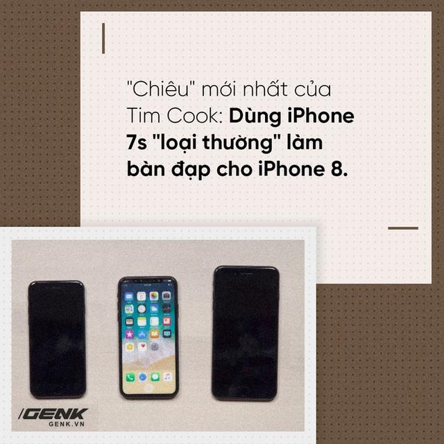 iPhone 8 giá 1000 đô: Cáo già Tim Cook và sự hỗ trợ tuyệt vời từ... Samsung - Ảnh 1.