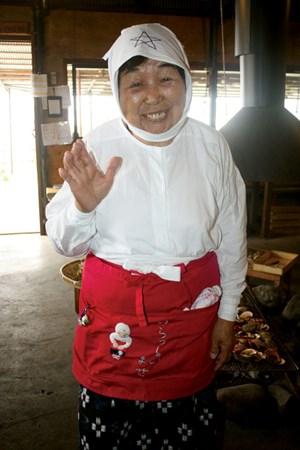 Một bà cụ ama
