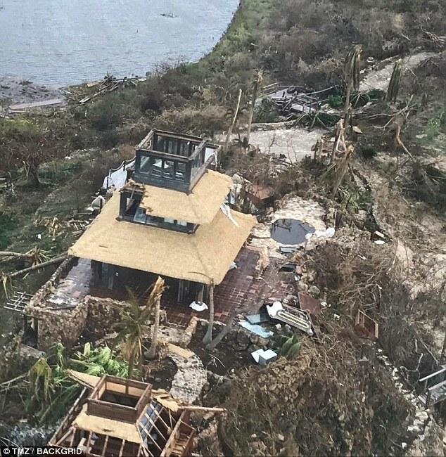 Nhà của tỷ phú Richard Branson tan tành vì siêu bão Irma - Ảnh 2.