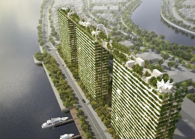 Việt Nam hiện có chưa đến 100 công trình xanh đạt chuẩn - Ảnh 1.