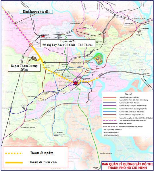 TPHCM xin Thủ tướng gia hạn làm tuyến metro số 2 vào năm 2020 - Ảnh 1.