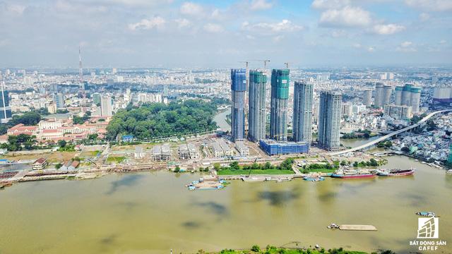 Dự án bất động sản cao cấp lớn thứ 2 của Vingroup tại Sài Gòn đang xây đến đâu? - Ảnh 1.