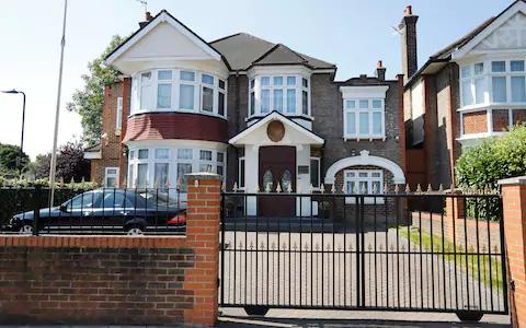 Đại sứ quán Triều Tiên tại Anh. Ảnh: EPA