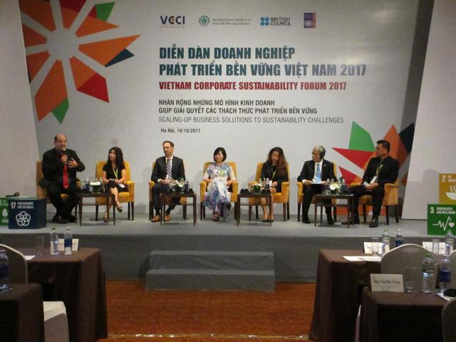 Chủ tịch VCCI Vũ Tiến Lộc: Phát triển bền vững không phải là một lựa chọn, đó là con đường duy nhất! - Ảnh 1.